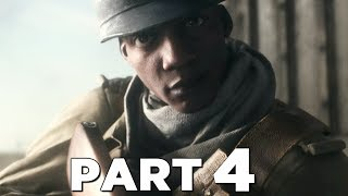 BATTLEFIELD 5 Walkthrough Gameplay Part 4 - TIRAILLEUR - Campaign Mission 3 (Battlefield V)