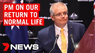 Coronavirus: PM outlines how Australians will return to work | 7NEWS
