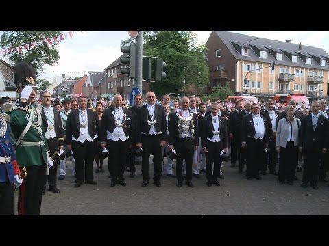 """Kaarster Schützenfest 2015 – Totenehrung und """"Großer Zapfenstreich"""" am 14. Juni 2015"""