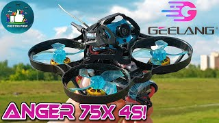 ✅ FPV Квадрокоптер Geelang Anger 75X Whoop | Монстр-Вуп на 4S ! ????