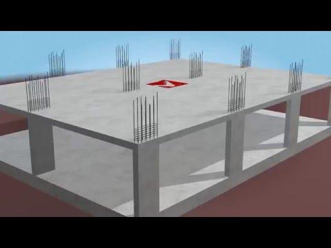 Xây nhà Bằng Beton Cốt thép không gian 3D