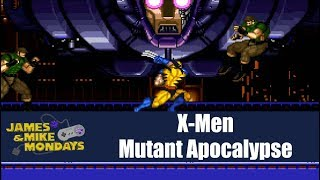 X-Men: Mutant Apocalypse (Super Nintendo) James & Mike Mondays