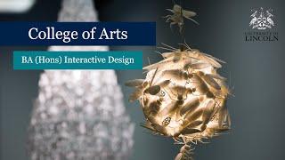 BA (Hons) Interactive Design | University Of Lincoln