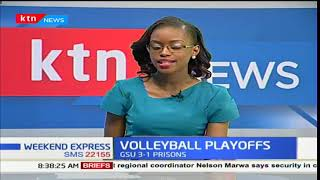 GSU claims win over Prisons in the volleyball playoffs