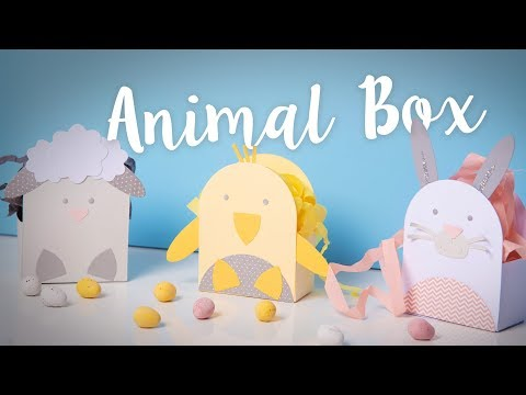How to Create Animal Boxes - Sizzix