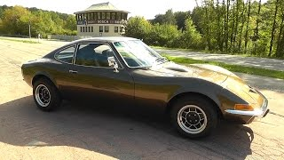 OPEL GT 1969 - restoration - part 1 - vintage sports car 130 PS