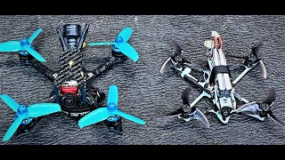 Our First FPV Experience! Emax Tinyhawk Freestyle & HGLRC Arrow 3 Drone Flying FPV Flight!