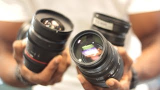 The ULTIMATE Introduction To Camera Lenses!