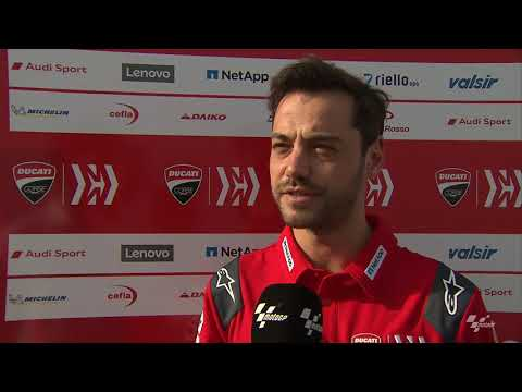 Mission Winnow Ducati talk about the VisitQatar Grand Prix