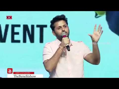Nithin speech at 'Chal Mohan Ranga' Pre-Release Event