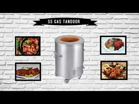 Stainless Steel Round Gas Tandoor