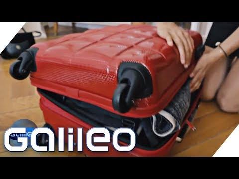 Koffer-Extremtest: Gewinnt teuer oder günstig?   Galileo   ProSieben
