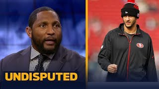 Ray Lewis delivers personal advice to QB Colin Kaepernick   UNDISPUTED