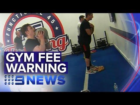 Gym junkies warned about hidden fees | Nine News Australia