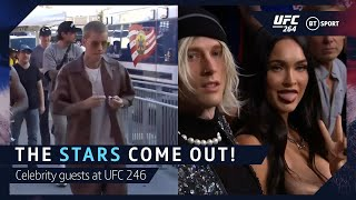 The stars come out for UFC 264! Celebrities attend Dustin v Conor III