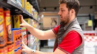 Une journée en tant qu'employé de supermarché