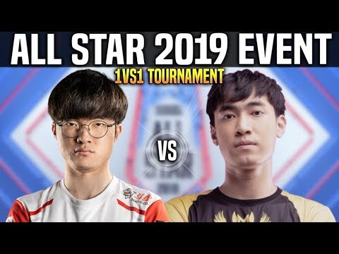 Faker vs Levi - Faker Akali vs Levi Tristana - 1vs1 Tournament All Star 2019 Day 2