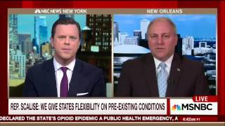 Scalise on pre-exisiting conditions