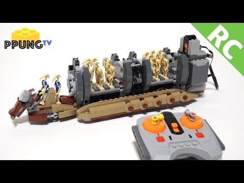 Vidéo LEGO Star Wars 75086 : Le transport de troupes de droïdes