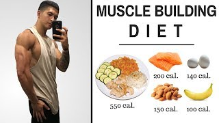 The Best Science-Based Diet to Build Lean Muscle (ALL MEALS SHOWN!)