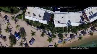 preview picture of video 'Aerial views of the Bolongo Bay Resort with the Dji Phantom Vision Plus V2'