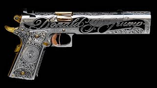 The Custom Built Donald Trump 1911 Pistol By Jesse James
