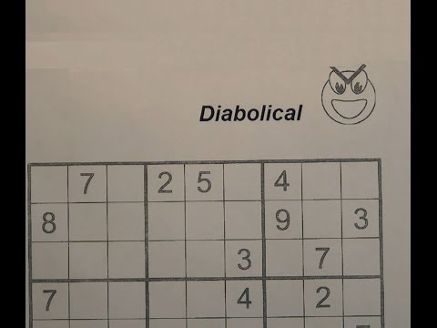 Download Solve Diabolical Sudoku Puzzles - Very Hard Mp4 HD Video and MP3