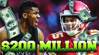 Projecting the Next 10 Athletes to Get MASSIVE $200+ Million Contracts