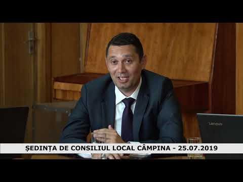 SEDINTA CONSILIUL LOCAL CAMPINA 25.07.2019