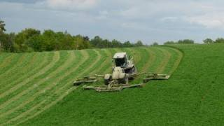 WORLD'S BIGGEST MOWER hill climbing