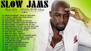 R&B SLOW JAMS LOVE SONGS ~ R. Kelly Boyz II Men Brian McKnight New Edition Monica Aaliyah