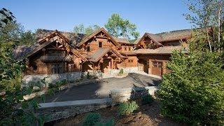 Epic Homes - Master-Crafted Log Mansion