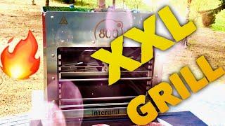 XXL 800 Grad GRILL - Hot oder Schrott ???  --- Klaus grillt