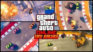 Who's ready for Hot Tiny Car Action Tiny Racers are coming to GTA Online Check 'em out