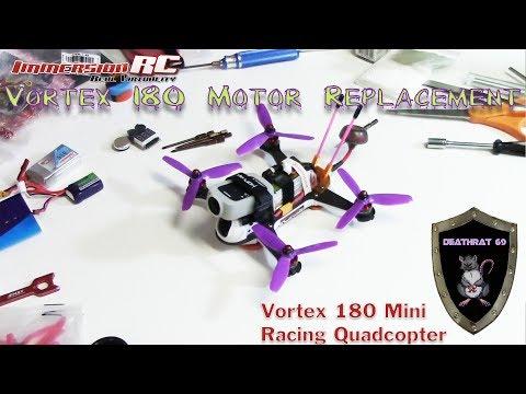 immersionrc-vortex-180-motor-replacement-with-test-flight--deathrat69-soldering-iron-demonstration