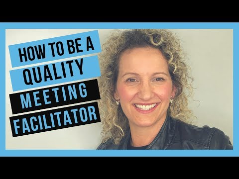 Meeting Facilitation Tips - How to Facilitate Your First Meeting ...