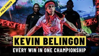 Every Kevin Belingon Win | ONE: Full Fights