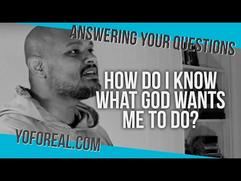 How do I know what God wants me to do? [Fr. Agustino Torres]