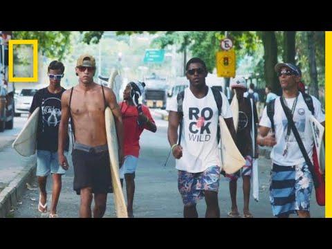 Meet the Surfers Redefining Brazil's Largest Favela   Short Film Showcase