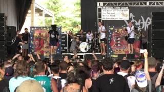 Neck Deep at Vans Warped Tour All Hype No Heart