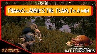 PUBG - Player Unknown's Battlegrounds - Thanos Carries the Team