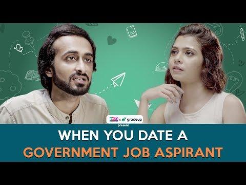 When You Date A Government Job Aspirant   Ft. Abhinav (Bade) & Shreya Gupto   RVCJ