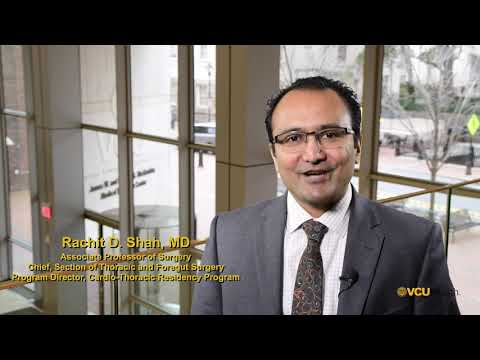 A welcome message from Dr. Shah, Program Director