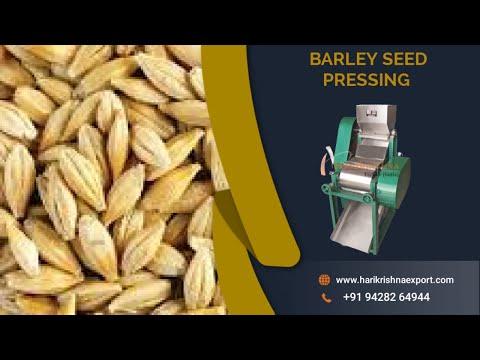 Barley Grains Pressing Machine