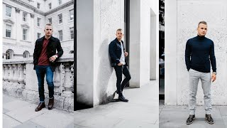 3 EASY AUTUMN OUTFITS FOR MEN 2018 || Charlie Irons