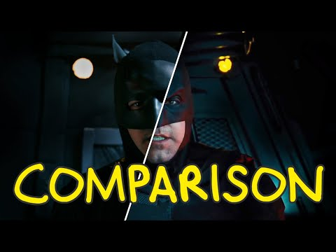 Justice League - Homemade Side by Side Comparison