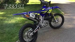 2016 Yamaha YZ250X For Sale Brewton, AL : 6967