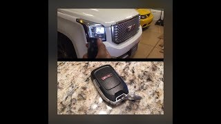 Unlock all doors at once GMC / Chevy Yukon, Tahoe, Suburban rke remote keyless entry