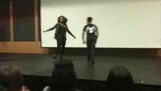 80's Dance Move Competition - LTA's Stroll & Step Show - Rutgers