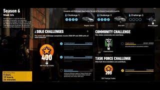 Solo Challenge 3 Season 6 Week 3 - Ghost Recon Wildlands